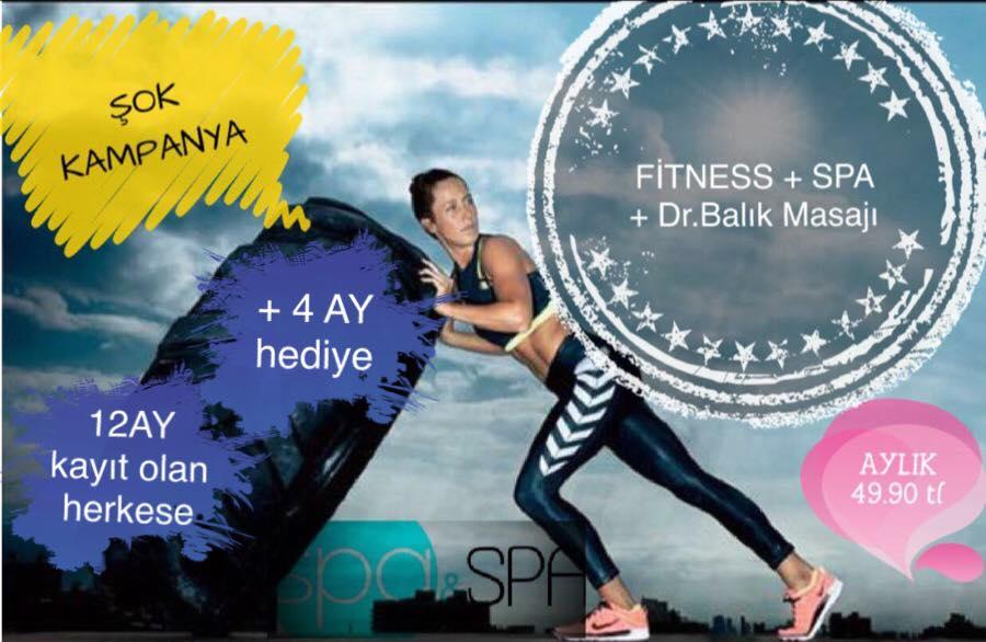 Fitness + Spa + Dr. Balık Masajı